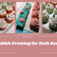 Bubble Frosting for Bath Bombs. FINALLY